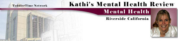 Kathi's Mental Health Review page banner